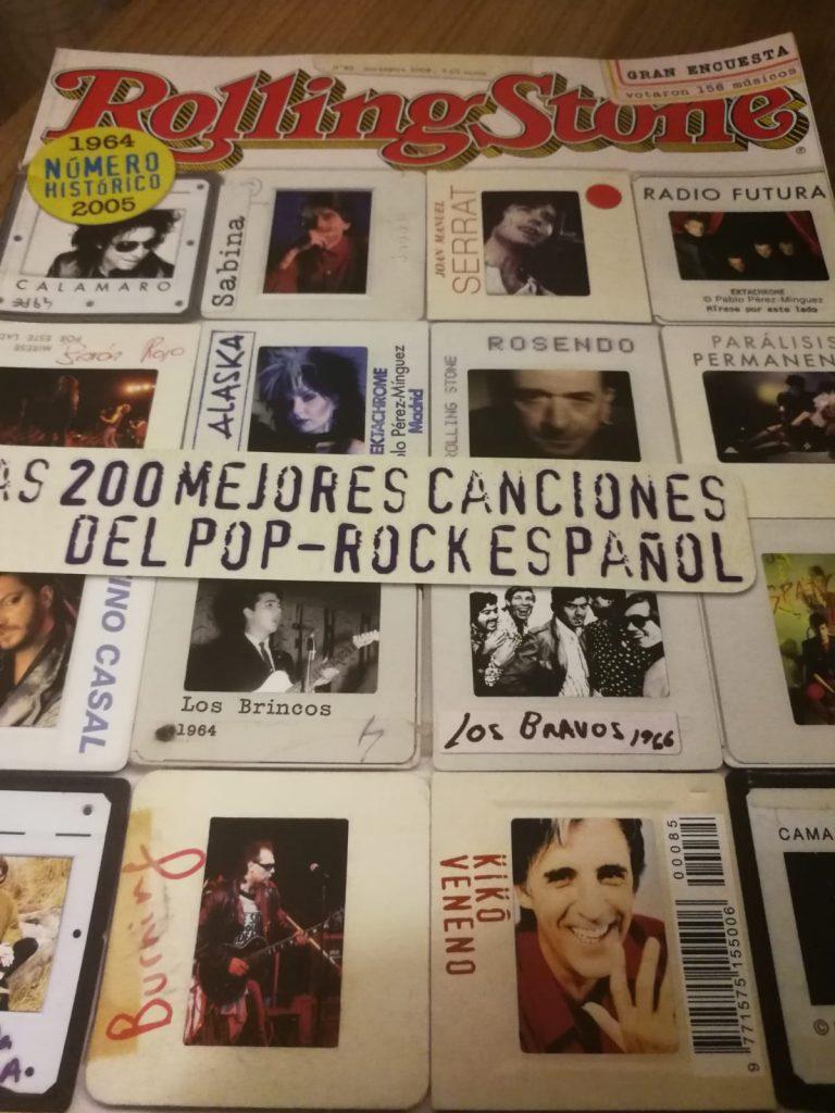 Revista Rolling Stone de noviembre de 2006, en su edición española