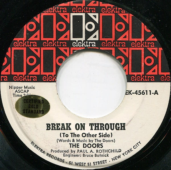 Single de Break on through de The Doors