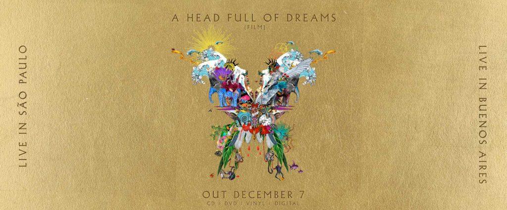 Carátula del lote de A head full of dreams
