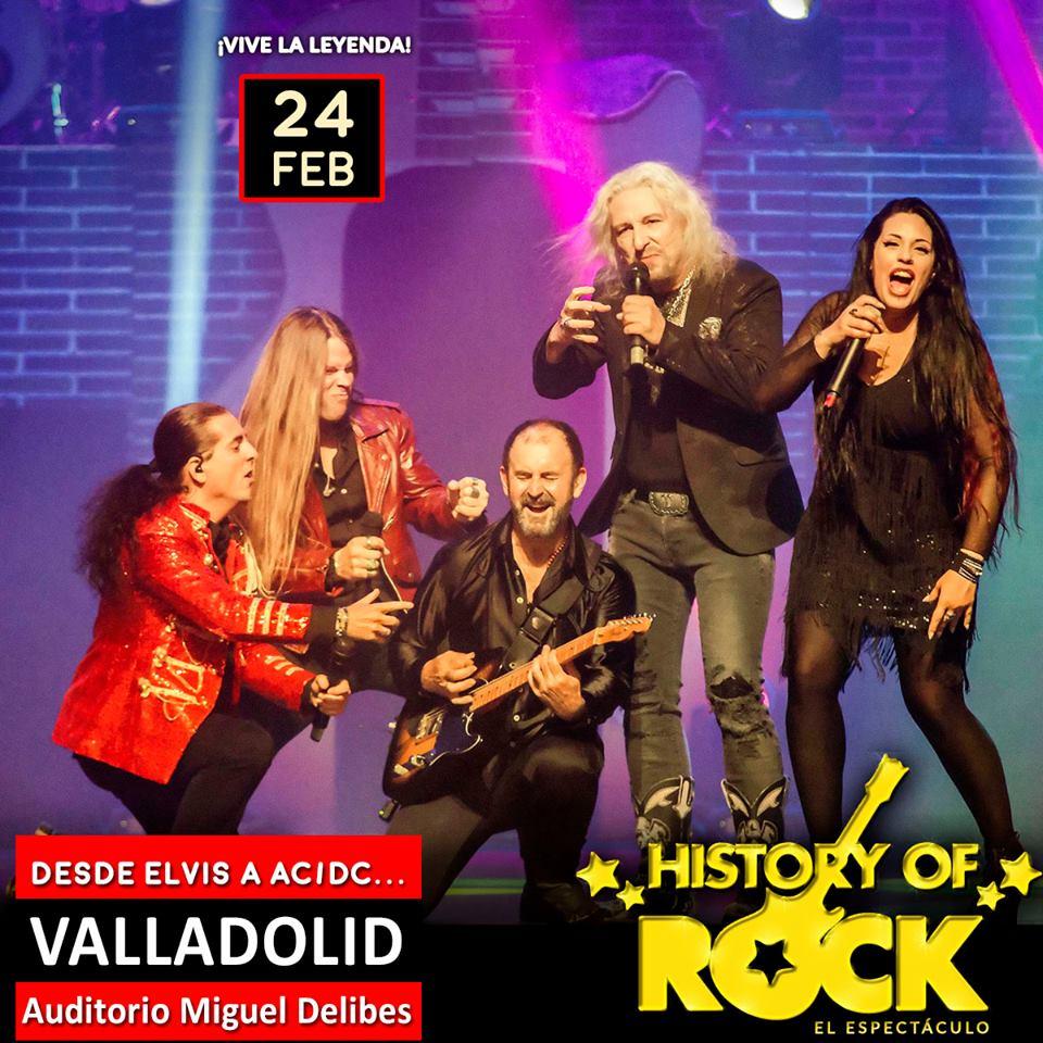 La banda que da vida a History of Rock