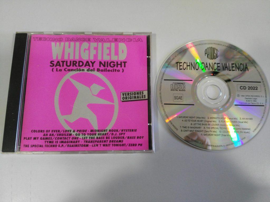 El disco lanzado por Prodisc