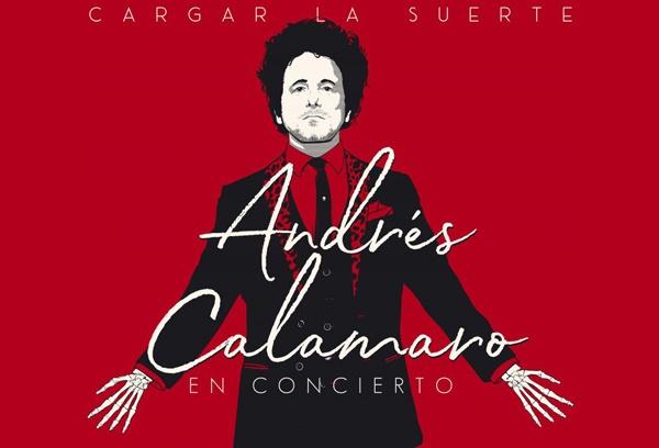 Gira Cargar la Suerte de Andrés Calamaro