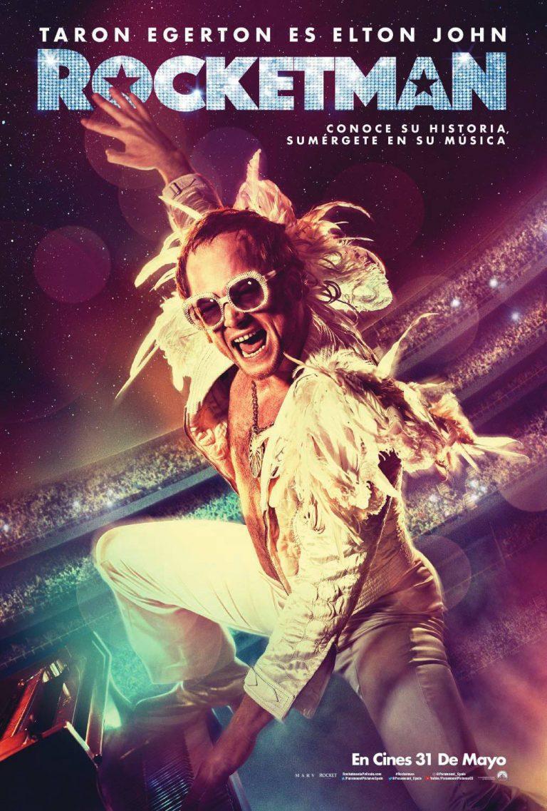Rocketman, la necesaria revisión de un mito: Elton John