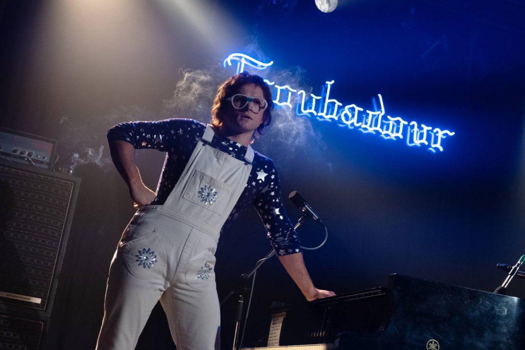 Elton John, con el Troubadour