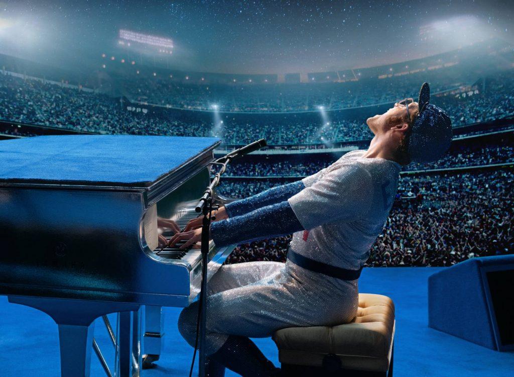 Estelar actuación de Elton John