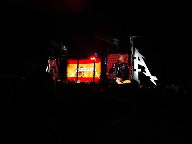 Metallica eleva el metal a la enésima potencia en un repleto Valdebebas