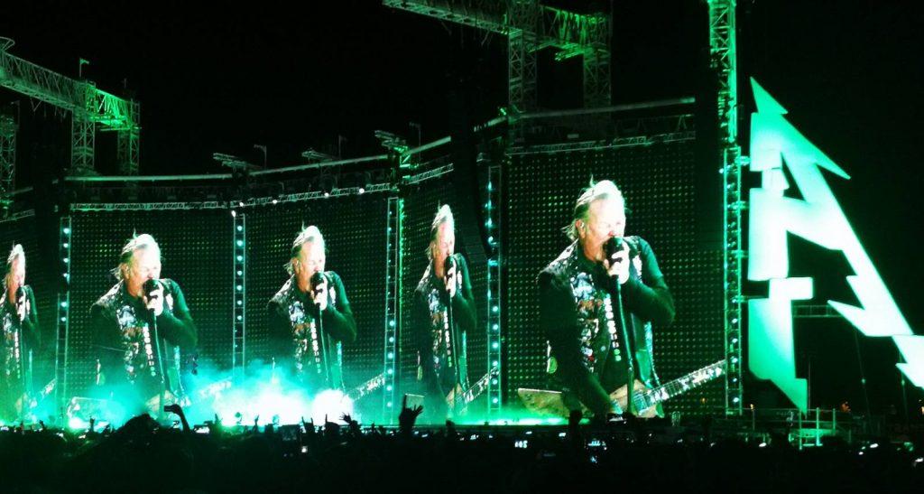cantante de Metallica