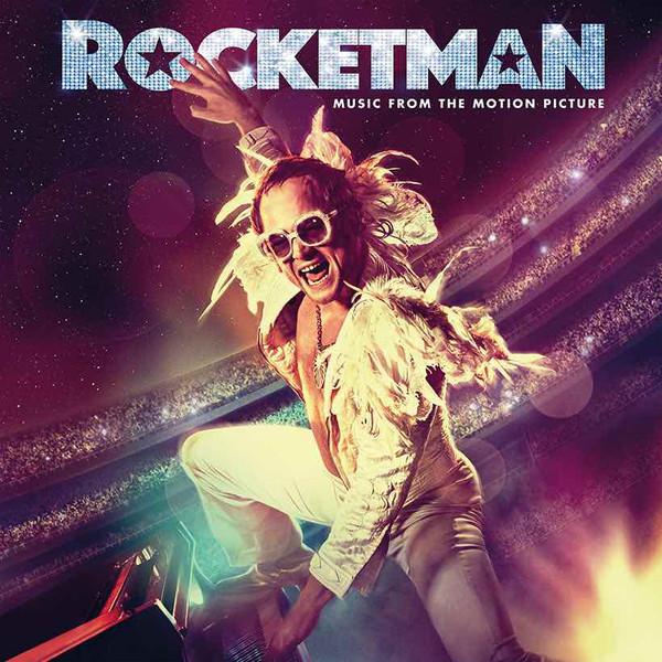 Portada del disco de la banda sonora de Rocketman