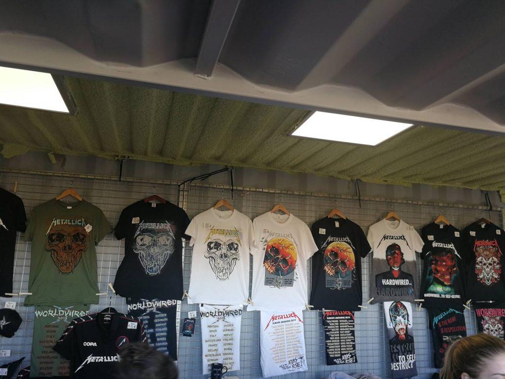 puestos merchandising