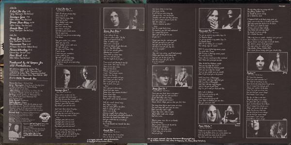 Interior del álbum