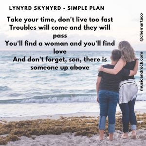 Tip instagram Lynyrd Skynyrd Simple Plan