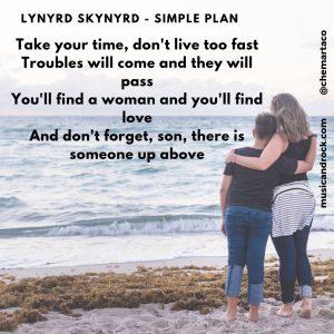 Tip instagram Lynyrd Skynyrd Simple Plan