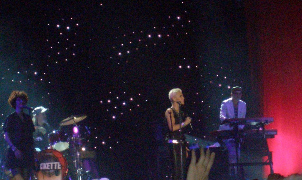 Marie actúa en Madrid, en Vistalegre, en 2011
