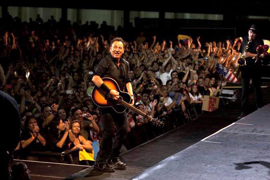 Bruce Springsteen en Canarias