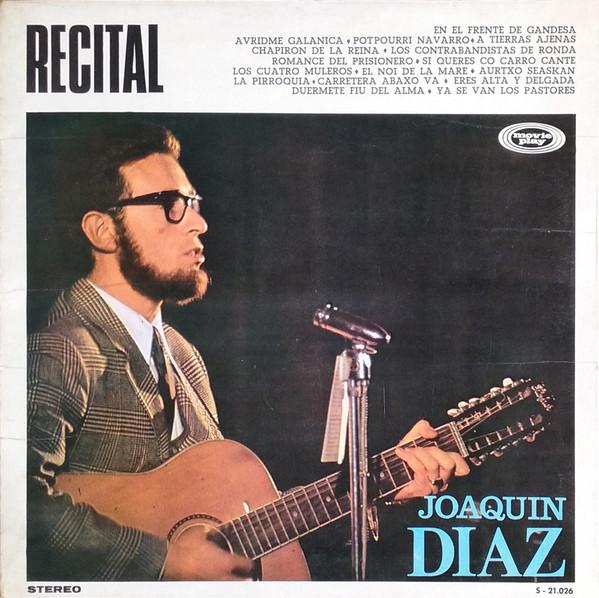 Recital, disco de Joaquín Díaz