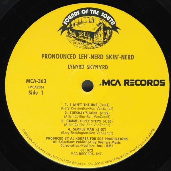 El disco Pronounced...