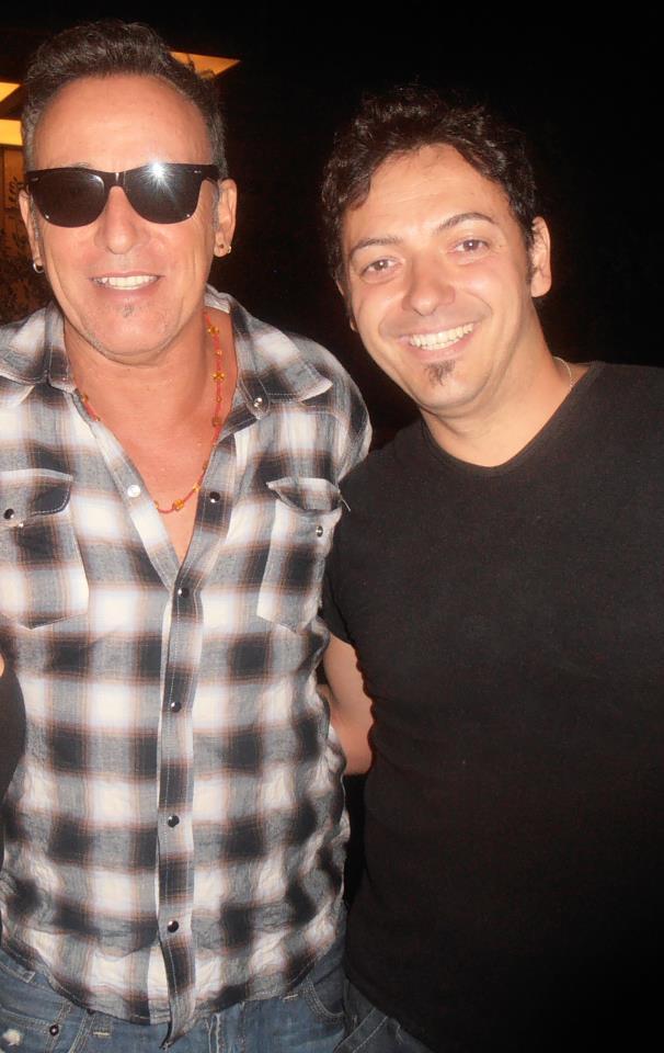 Despedida de Bruce Springsteen a nuestro colaborador, Marcos Ruiz