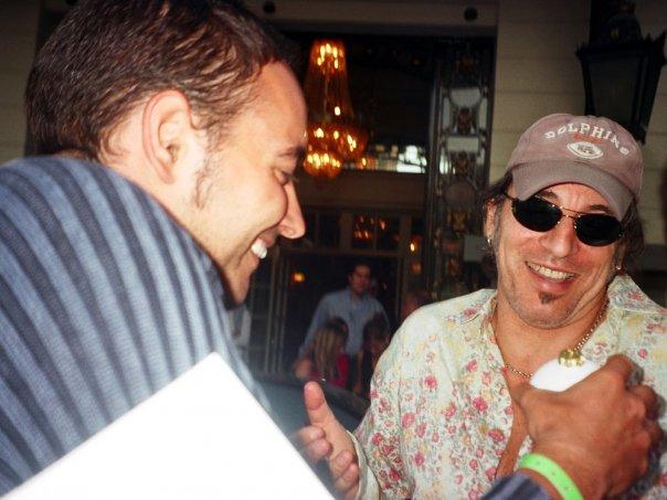 Bruce Springsteen y nuestro colaborador, Marcos Ruiz