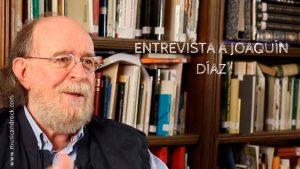 """Entrevista a Joaquín Díaz, músico: «Lo bueno que tienen las modas es que cambian. No las vamos a soportar toda la vida, y entiendo que con el reguetón pasará igual»<span class=""""wtr-time-wrap after-title""""><span class=""""wtr-time-number"""">33</span> minutos de lectura</span>"""