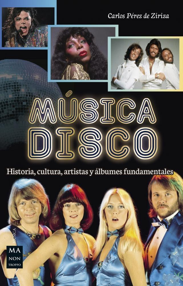 Portada del libro Música Disco