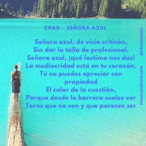 Tip letra CRAG - Señora Azúl