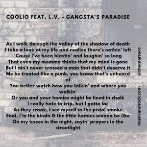 Letra de Gangsta's Paradise