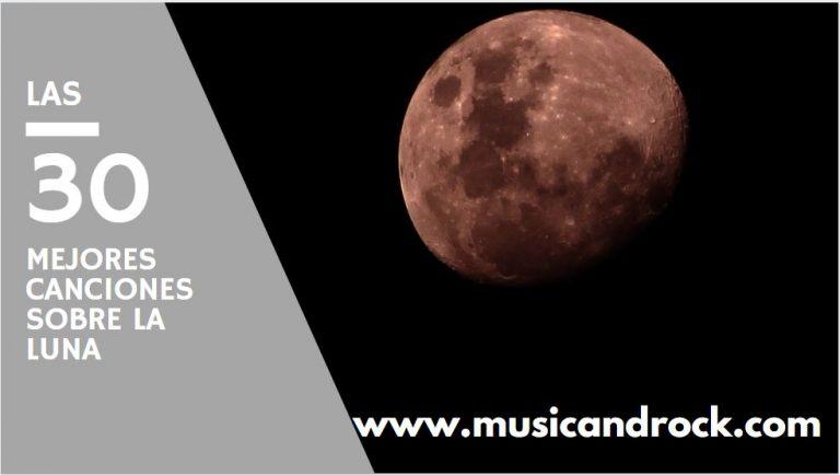 Las 30 mejores canciones sobre la luna. 50 aniversario de la llegada del hombre a la luna