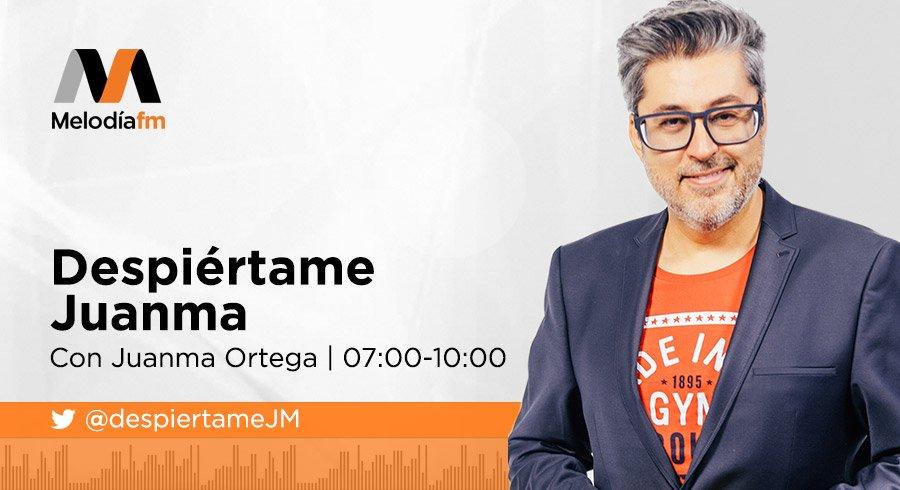Despiértame Juanma en Melodía FM