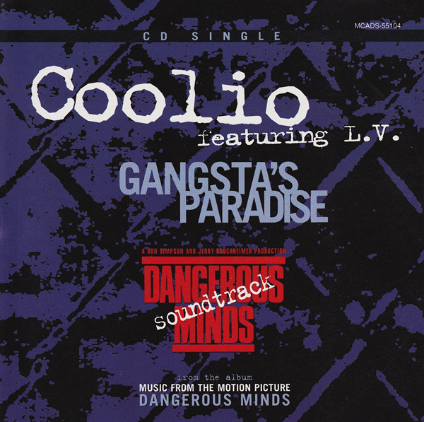 El single Gangsta's paradise de Coolio