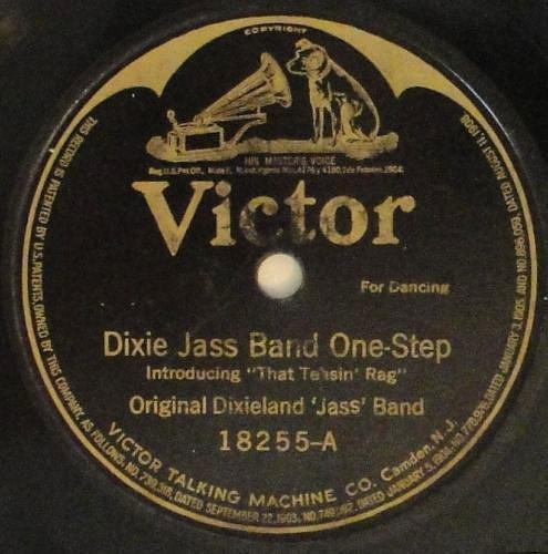 Disco original de la Dixie Jazz Band de 1917