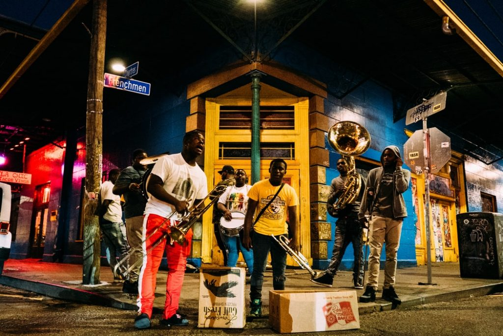 NOLA. Músicos en Nueva Orleans