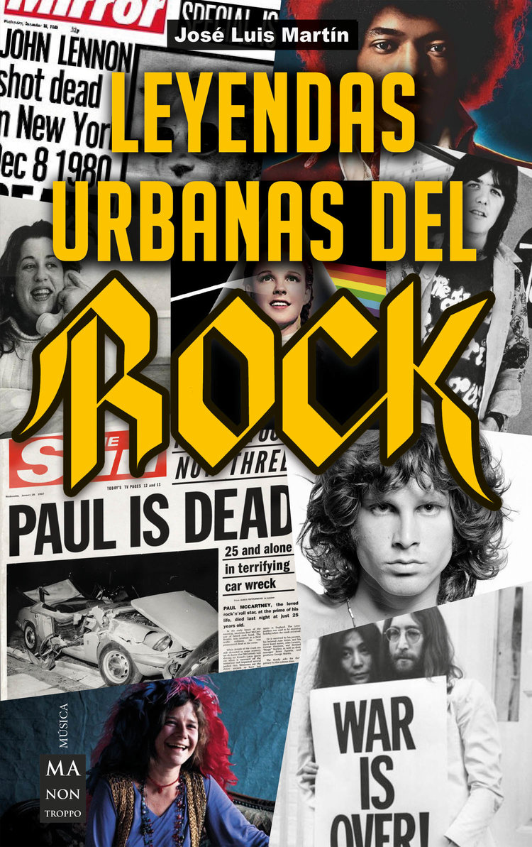 Las leyendas urbanas del rock and roll deben tener un espacio en tu biblioteca