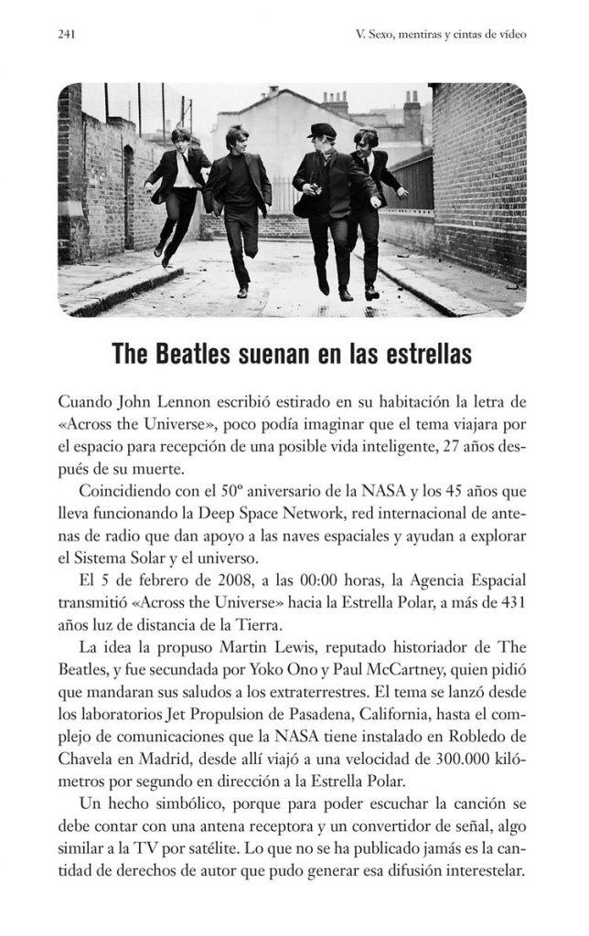 The Beatles suenan en las estrellas