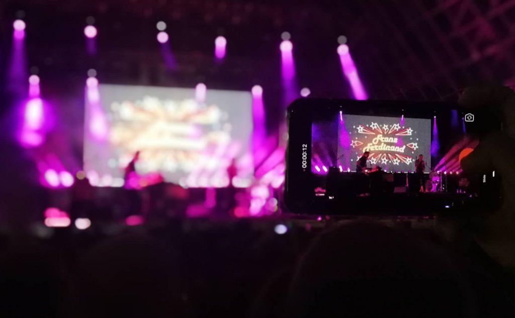 Crónica del concierto de Franz Ferdinand en Valladolid 2019 - Móvil