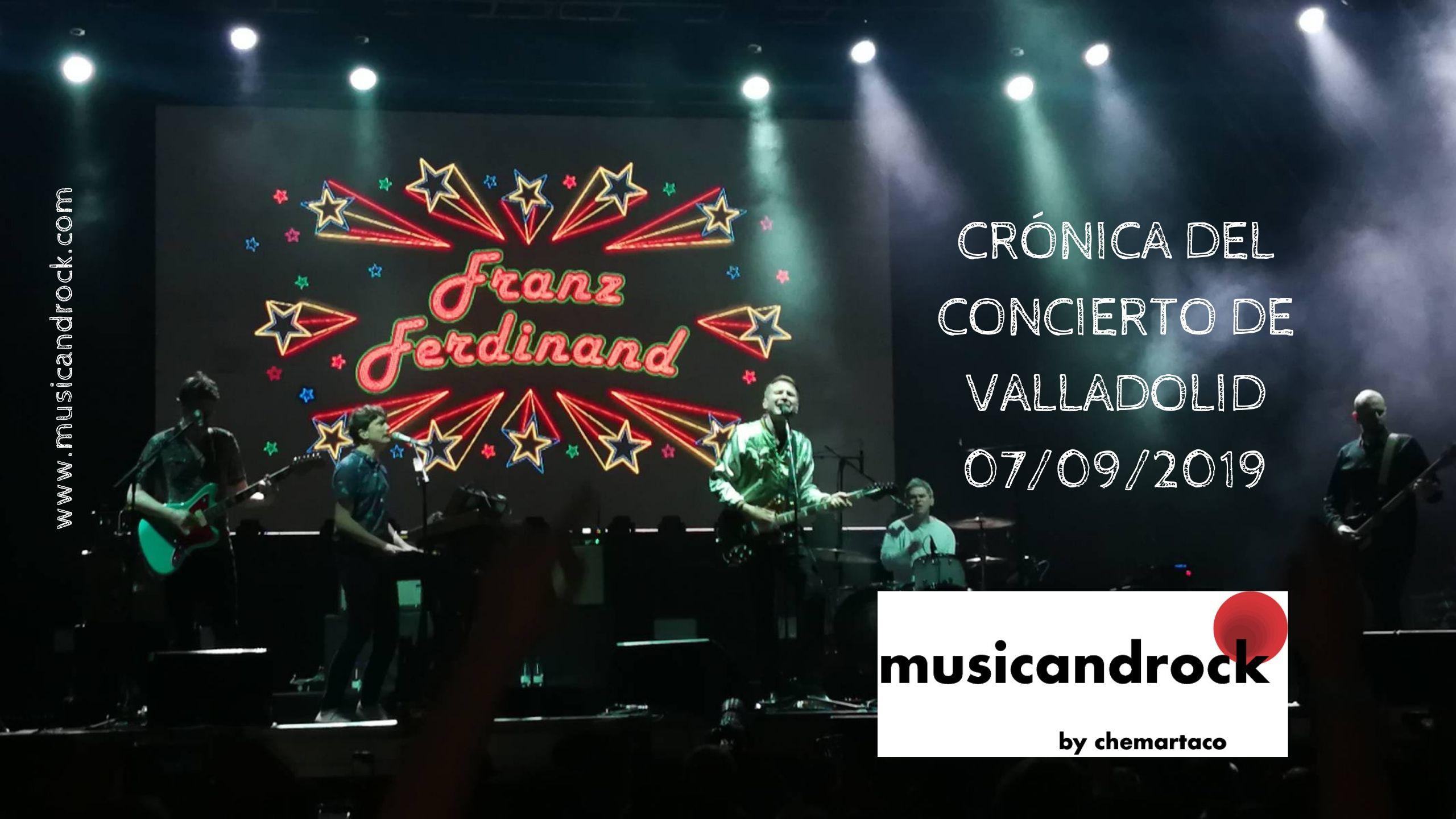 Franz Ferdinand brinda un concierto de altura, tablas y tesón en las fiestas de Valladolid