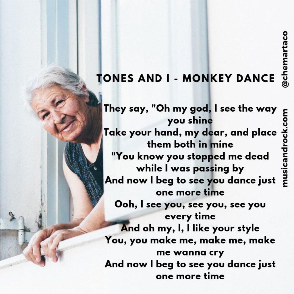 Tones and I Tip Letras