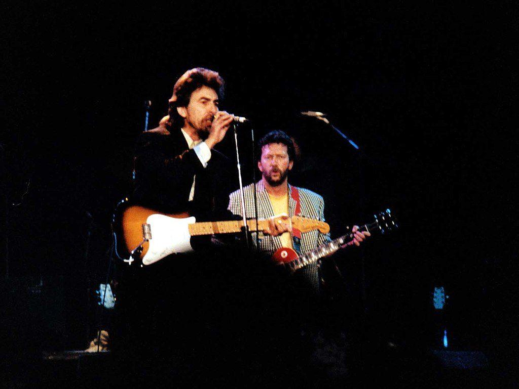 Clapton y George Harrison