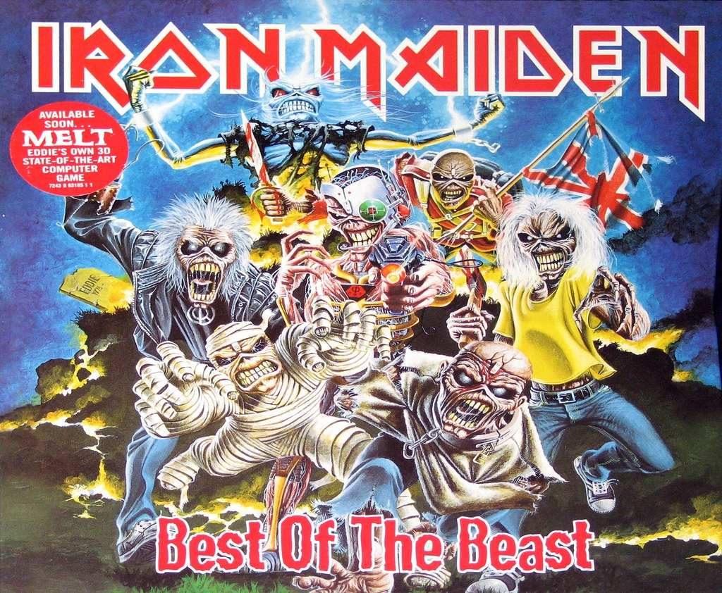 Los diferentes formatos de Eddie, la imagen de Iron Maiden