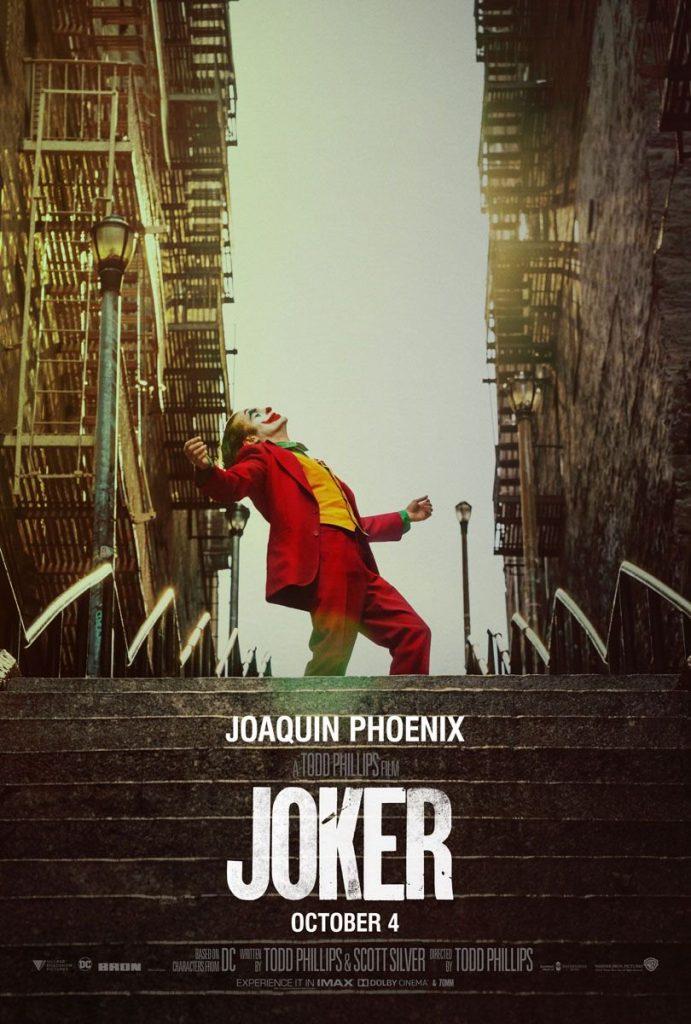Cartel de Joker. Universal