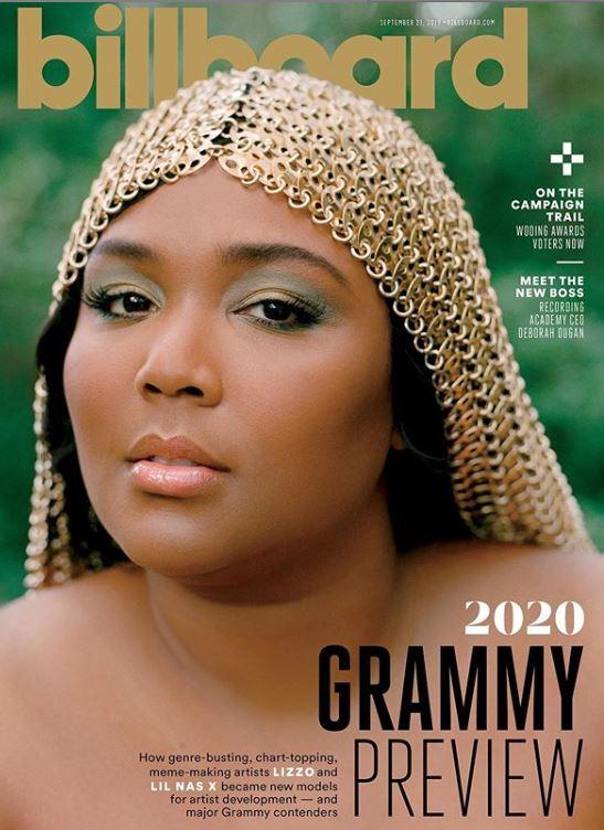 Lizzo, en la revista Billboard de septiembre de 2019