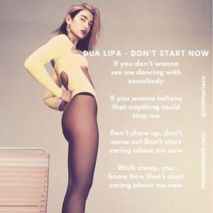 Don't start now de Dua Lipa