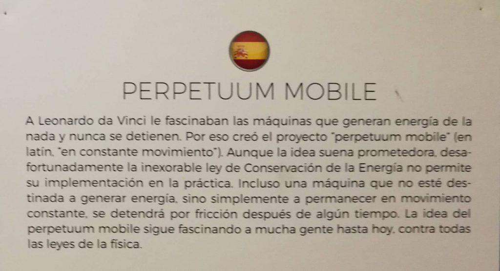 Perpetuum Mobile en español