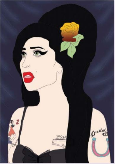 Libro biografía de Amy Winehouse Foto 03