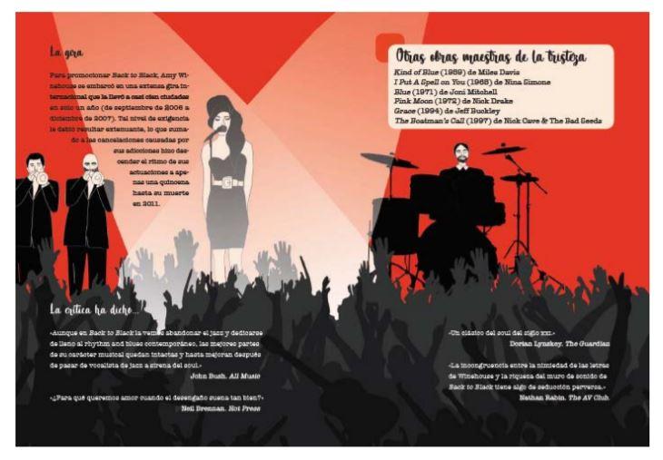 Libro biografía de Amy Winehouse Foto 04