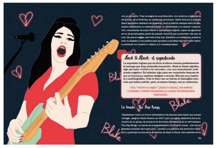 Libro biografía de Amy Winehouse Foto 01