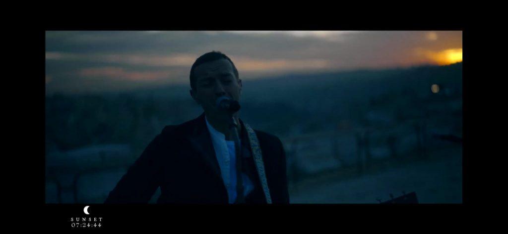 Concierto en Jordania de Coldplay, con el que estrenaron el disco