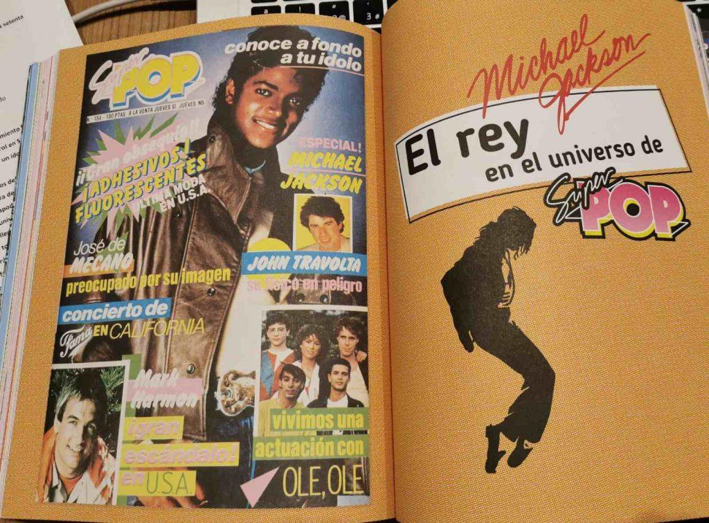 Michael Jackson en Súper Pop