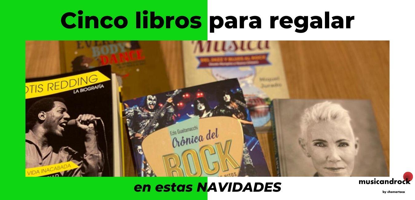 """Cinco libros sobre música para regalar en estas Navidades. 2019<span class=""""wtr-time-wrap after-title""""><span class=""""wtr-time-number"""">8</span> minutos de lectura</span>"""