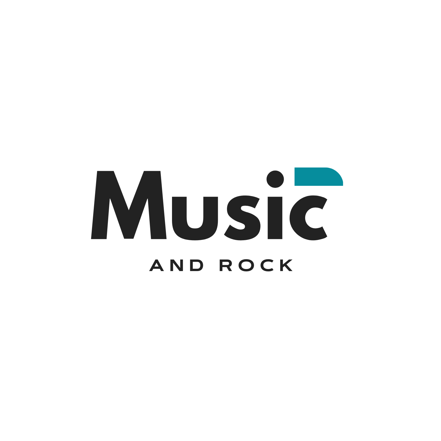 Logotipo Music and Rock v2