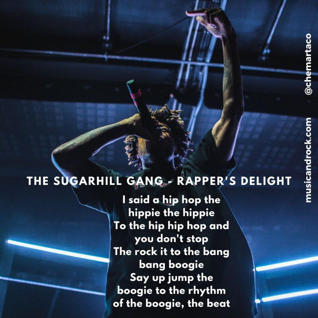 Rapper's delight letra